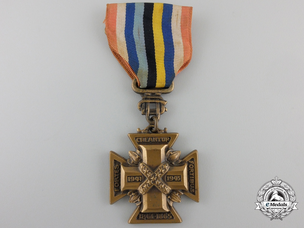 eMedals-A Second World War United Daughters of the Confederacy Cross of Military Service 1941-1945