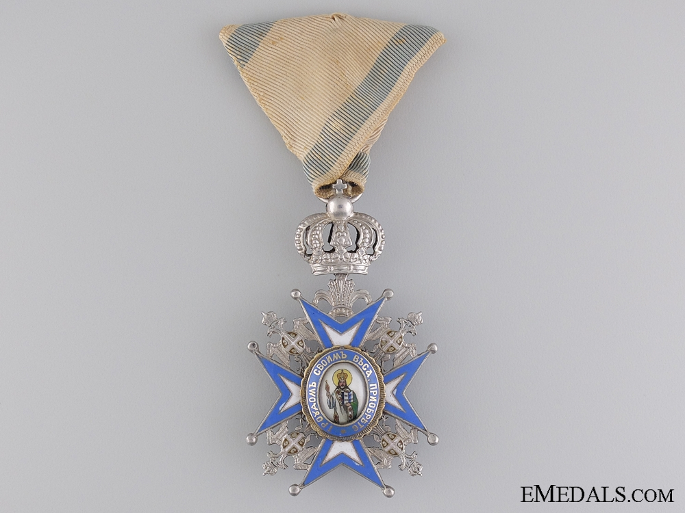 eMedals-A Serbian Order of St. Sava with Crown Suspension