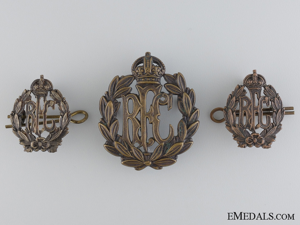 eMedals-A Set of First war Royal Flying Corps Insignia