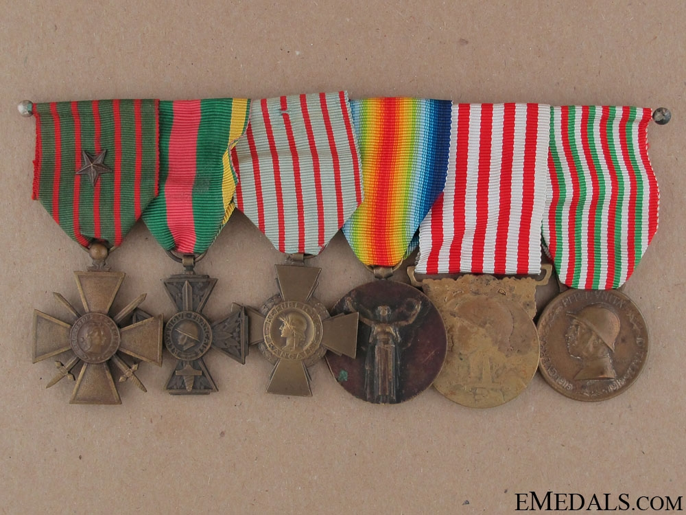eMedals-A Set of French First War Awards