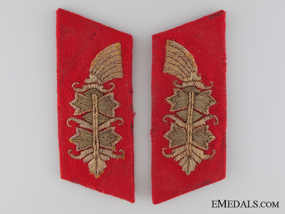 eMedals-A Set of Matching Army Collar Tabs
