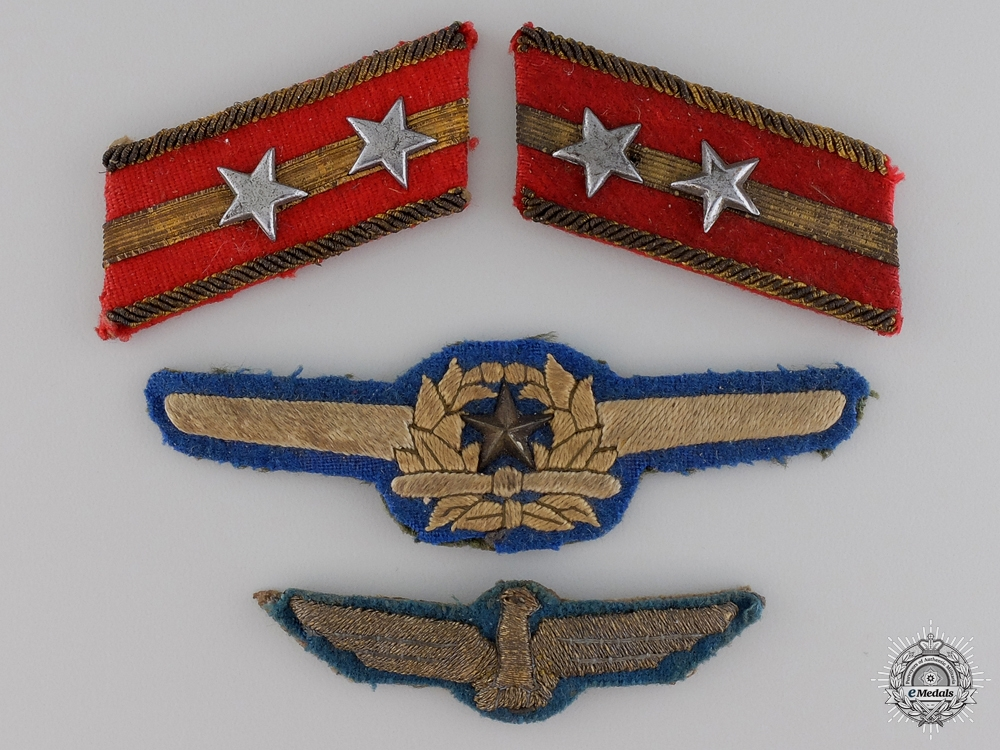 eMedals-A Set of Second War Imperial Japanese Pilot Insignia