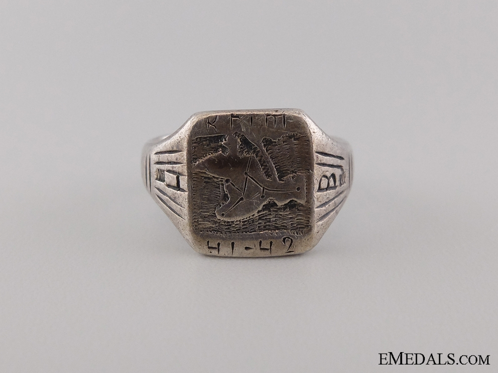 eMedals-A Silver 1941-42 Krim Campaign Ring