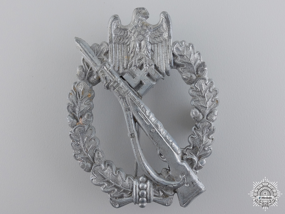 eMedals-A Silver Grade Infantry Badge by Friedrich Orth