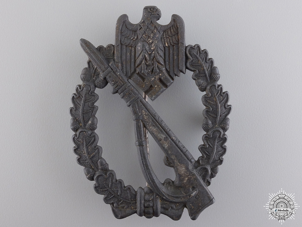 eMedals-A Silver Grade Infantry Badge by Fritz Zimmermann