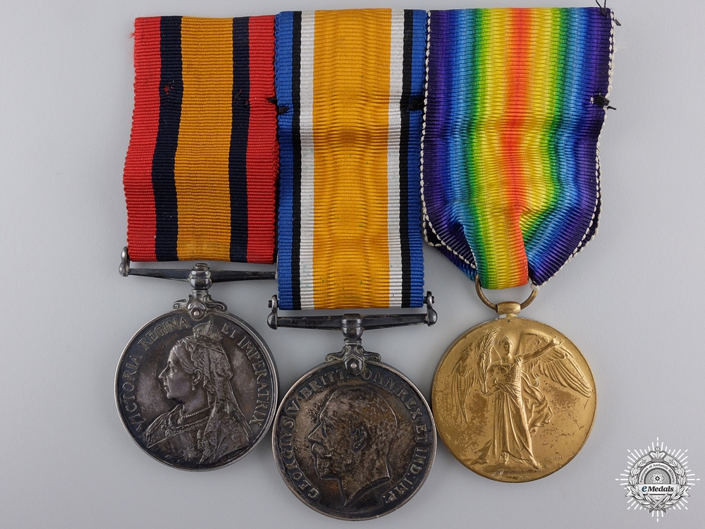 eMedals-A South Africa & First War Group to H.M.S. Partridge