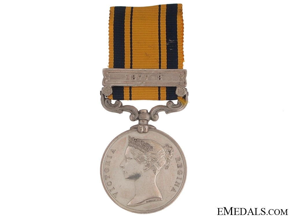 eMedals-A South Africa Medal 1879 to Frontier Mounted RiflesSouth Africa Medal 1877