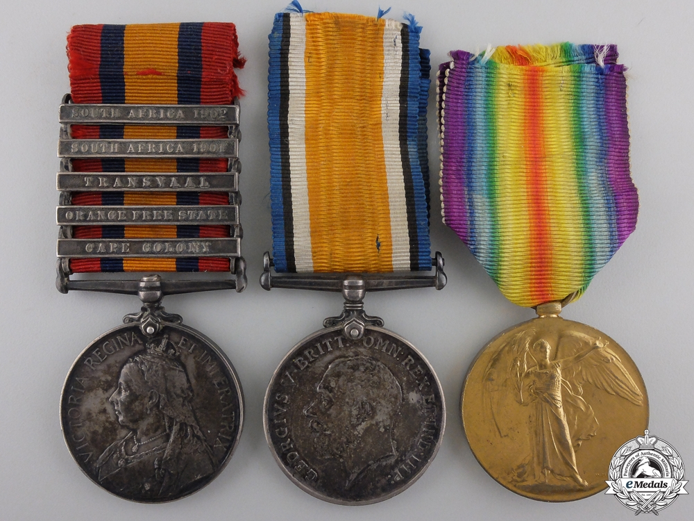 eMedals-A South African & First War Group to Lieutenant Williams  Consignment #36