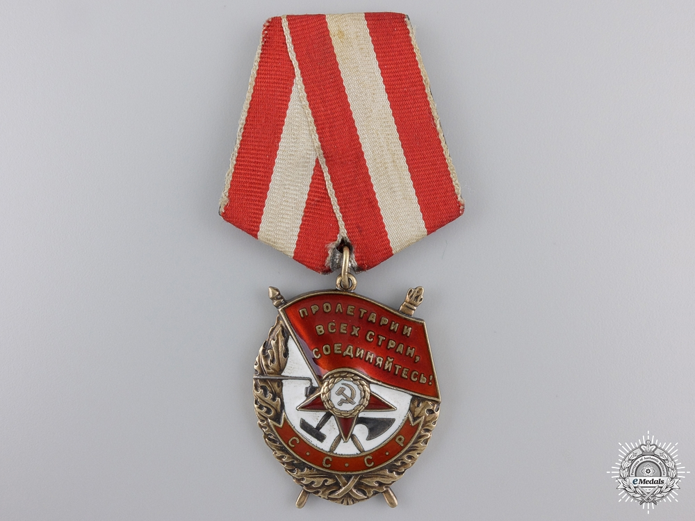 eMedals-A Soviet Order of the Red Banner; Type 5; Variation 1