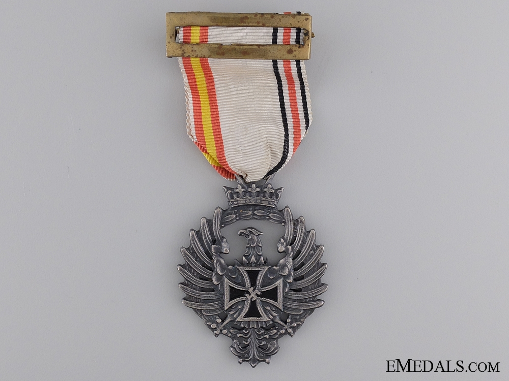 """eMedals-A Spanish """"Blue Division"""" Medal for Soldiers Serving in Russia"""