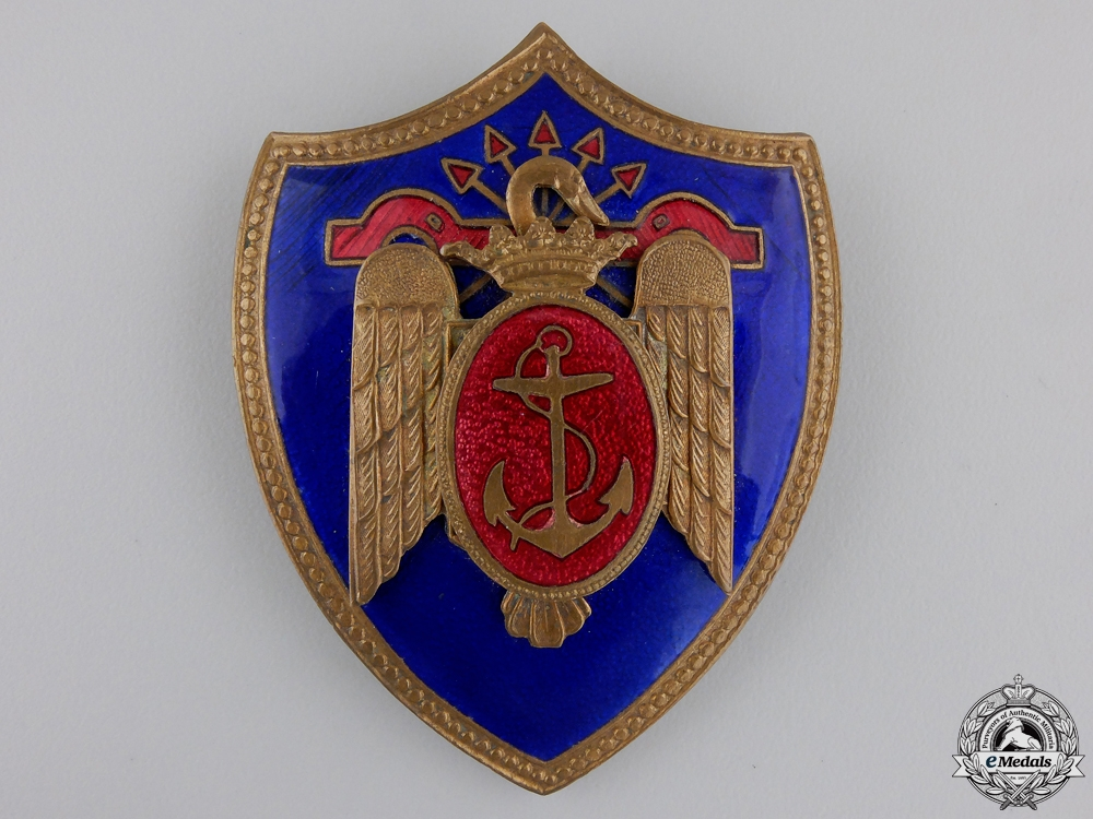 eMedals-A Spanish Falange Naval Air Force Badge