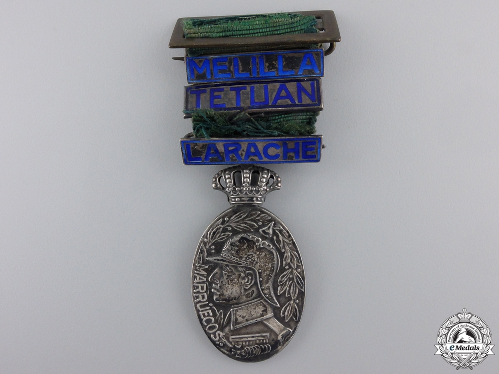 eMedals-A Spanish Officier's  Medal for the Morocco Campaign