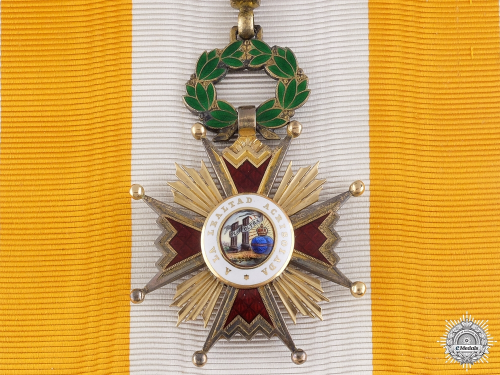 eMedals-A Spanish Order of Isabella the Catholic; Grand Cross