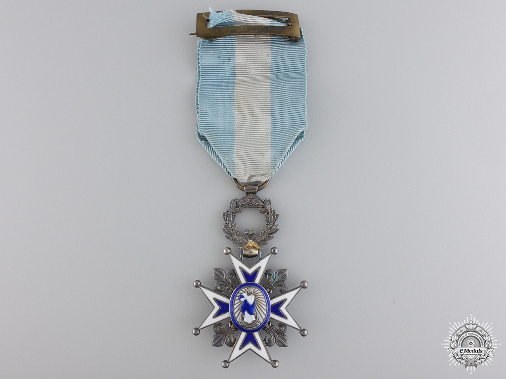 eMedals-A Spanish Order of Charles III; Knight's Badge