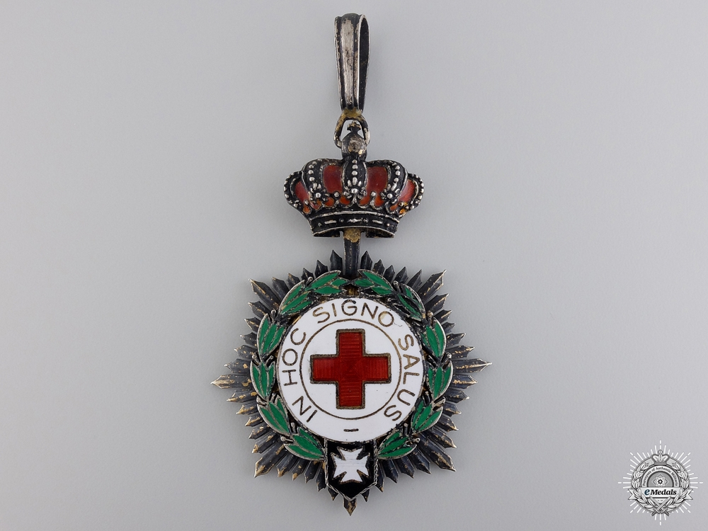 eMedals-A Spanish Red Cross Honor Decoration; First Class