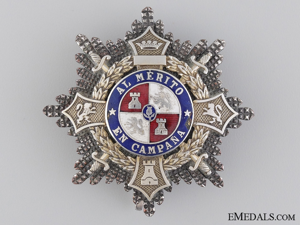 eMedals-A Spanish War Cross Awarded to don Manuel Gallego