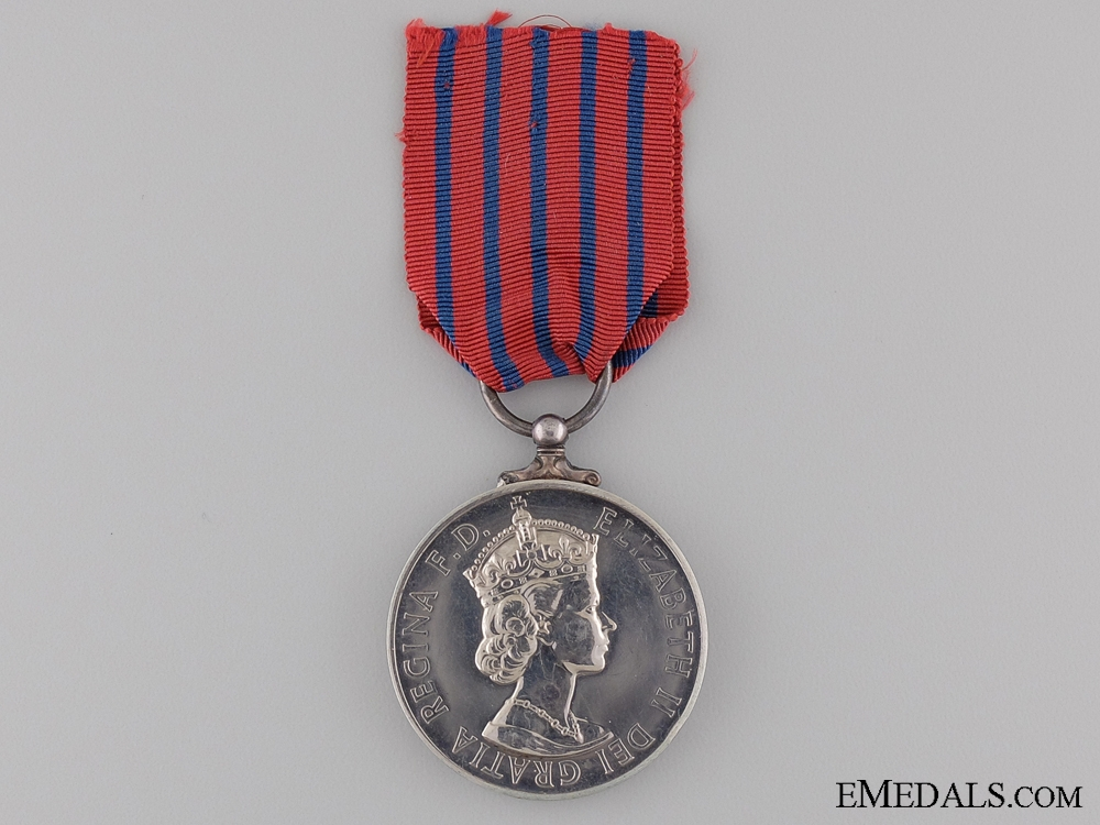 eMedals-A Specimen George Medal; Second Issue