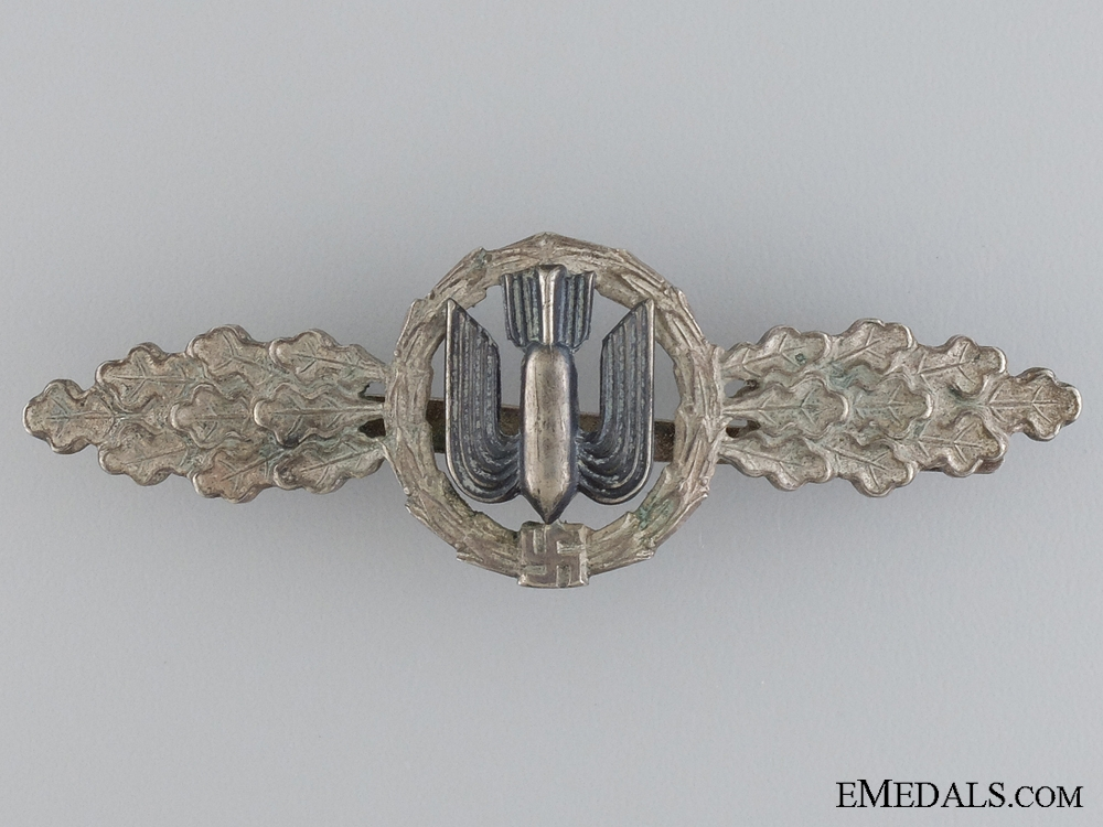 eMedals-A Squadron Clasp for Bomber Pilots; Silver Grade