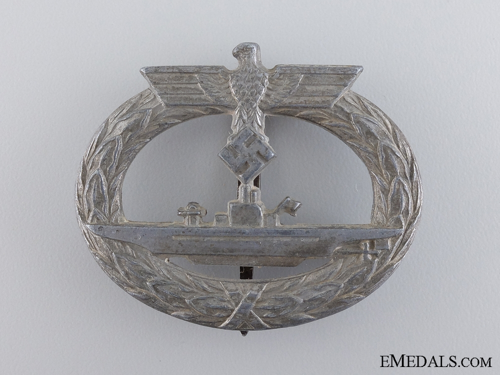 eMedals-A Submarine War Badge; Unmarked