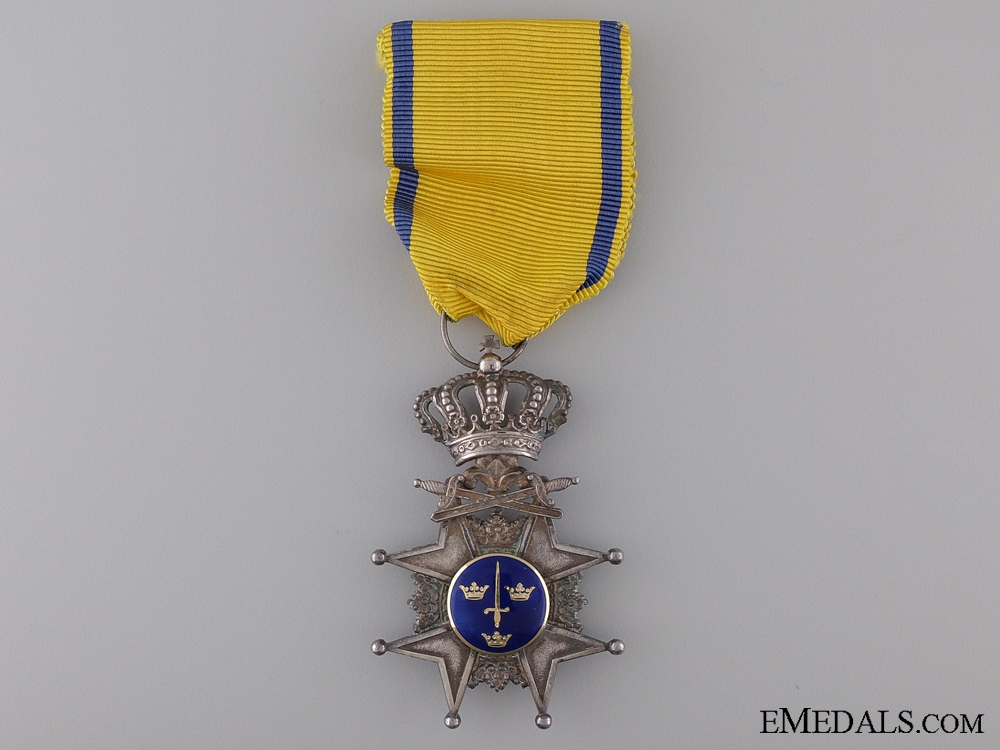 eMedals-A Swedish Order of the Sword; Knight