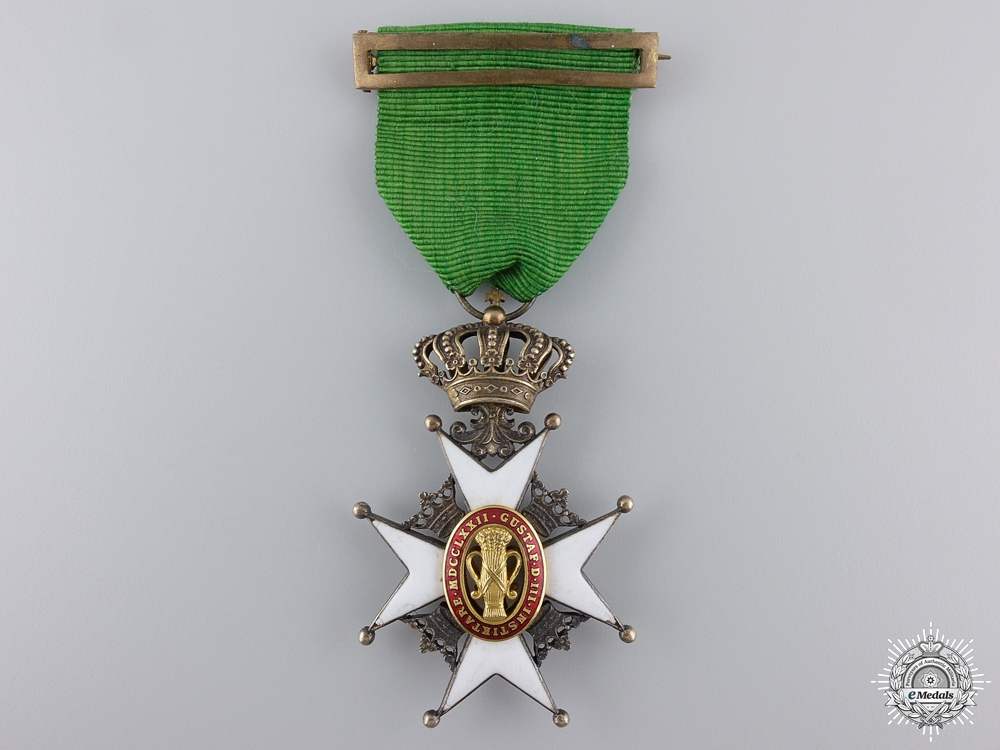 eMedals-A Swedish Order of Vasa; Knight's Badge