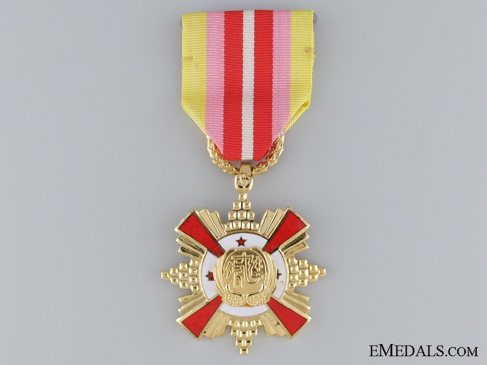 eMedals-A Taiwanese Air Force Distinguished Service Medal; First Class