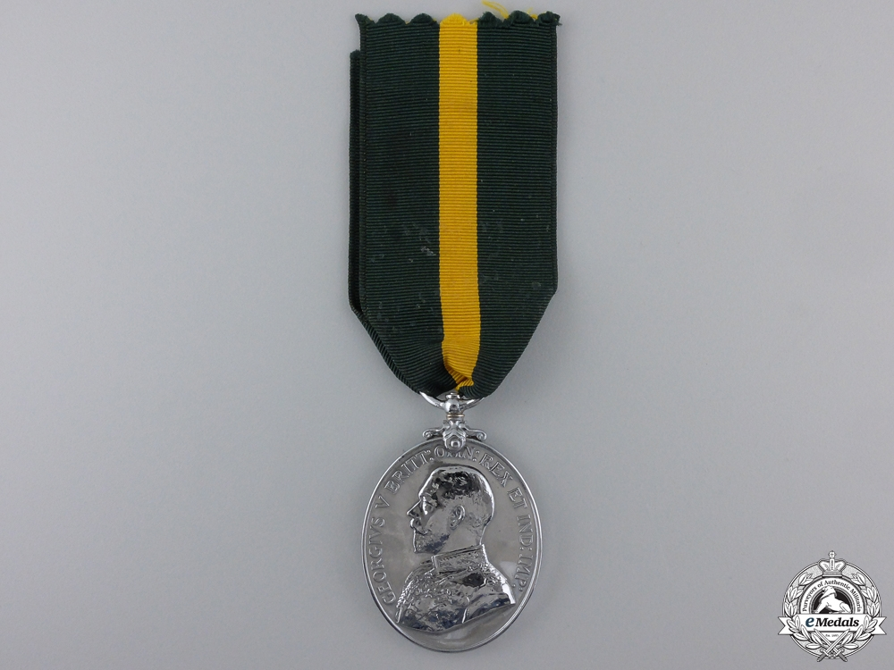 eMedals-A Territorial Force Efficiency Medal to the Royal Engineers