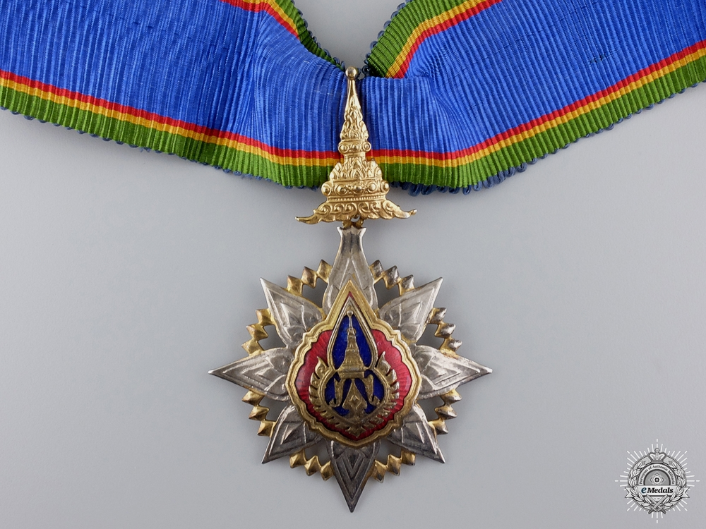 eMedals-A Thai Order of the Crown; Commander's Neck Badge