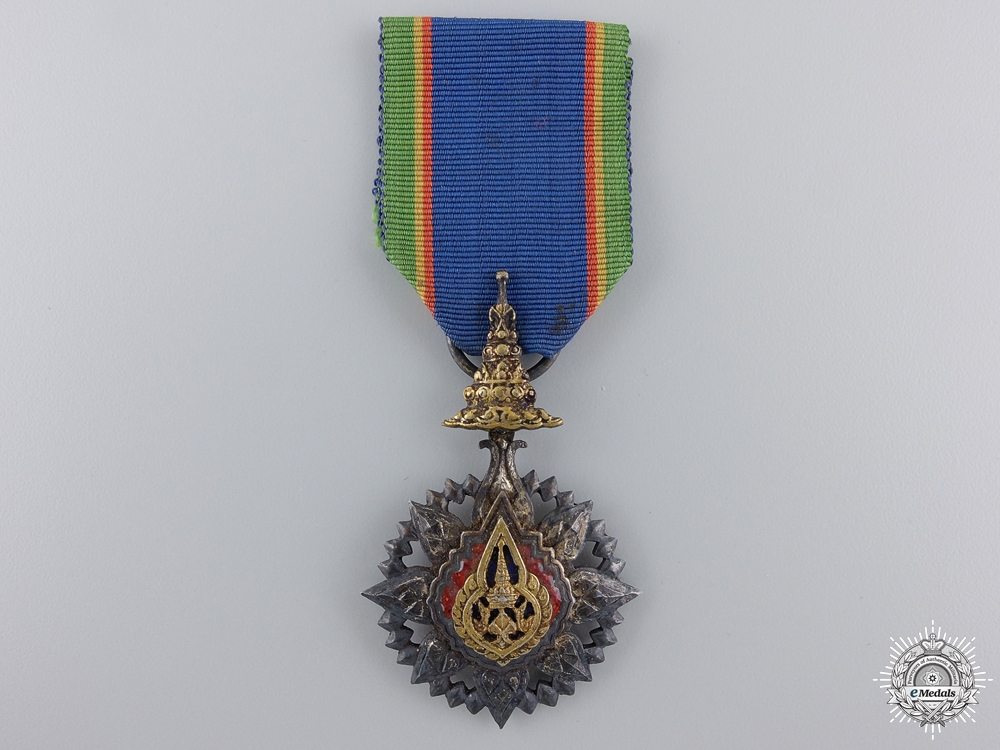 eMedals-A Thai Order of the Crown; Officer's