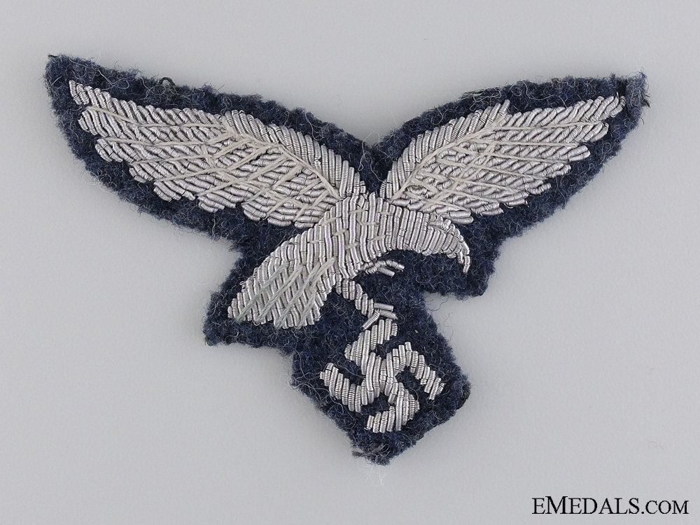 eMedals-A Uniform Removed Luftwaffe NCO's Breast Eagle
