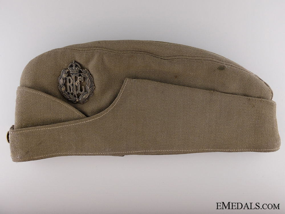 eMedals-A Unique First War Royal Flying Corps Side Cap by Thresher & Glenny Ltd