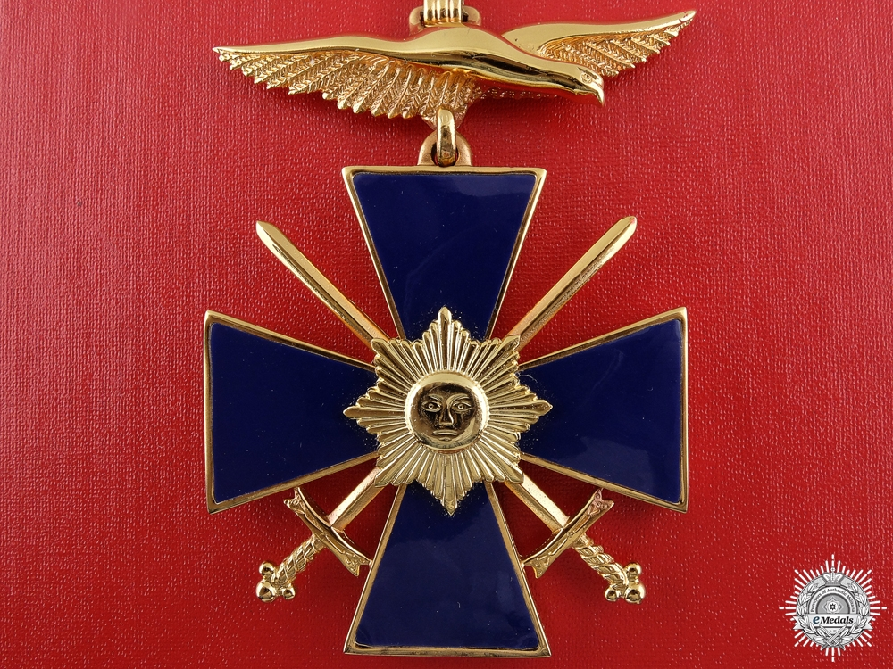 eMedals-A Venezuelan Order of Military Merit; Commander by N.S.Meyer NY