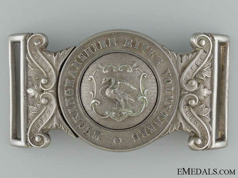 eMedals-A Victorian Buckinghamshire Rifle Volunteers Officer's Buckle