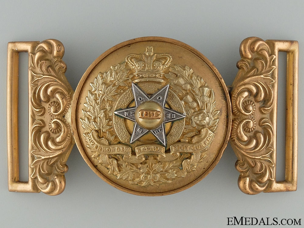 eMedals-A Victorian Governor General's Foot Guards Officer's Buckle