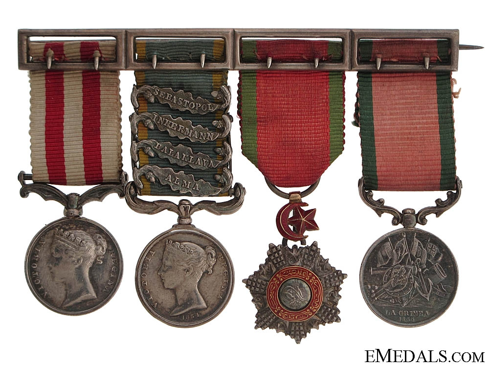 eMedals-A Fine Victorian Miniature Group of Four
