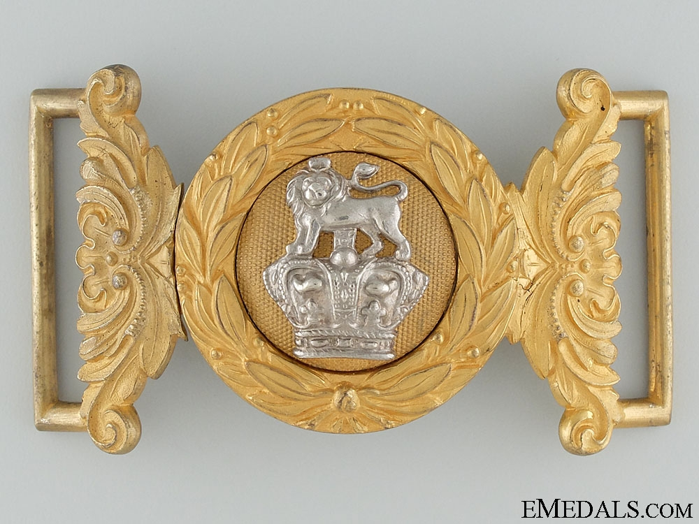 eMedals-A Victorian Royal Marine Light Infantry Officer's Buckle