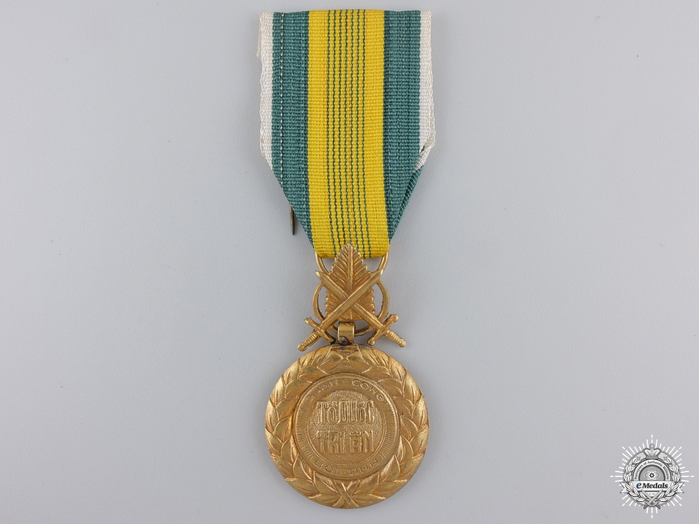 eMedals-A Vietnamese Military Merit Medal; 2nd Republic Issue