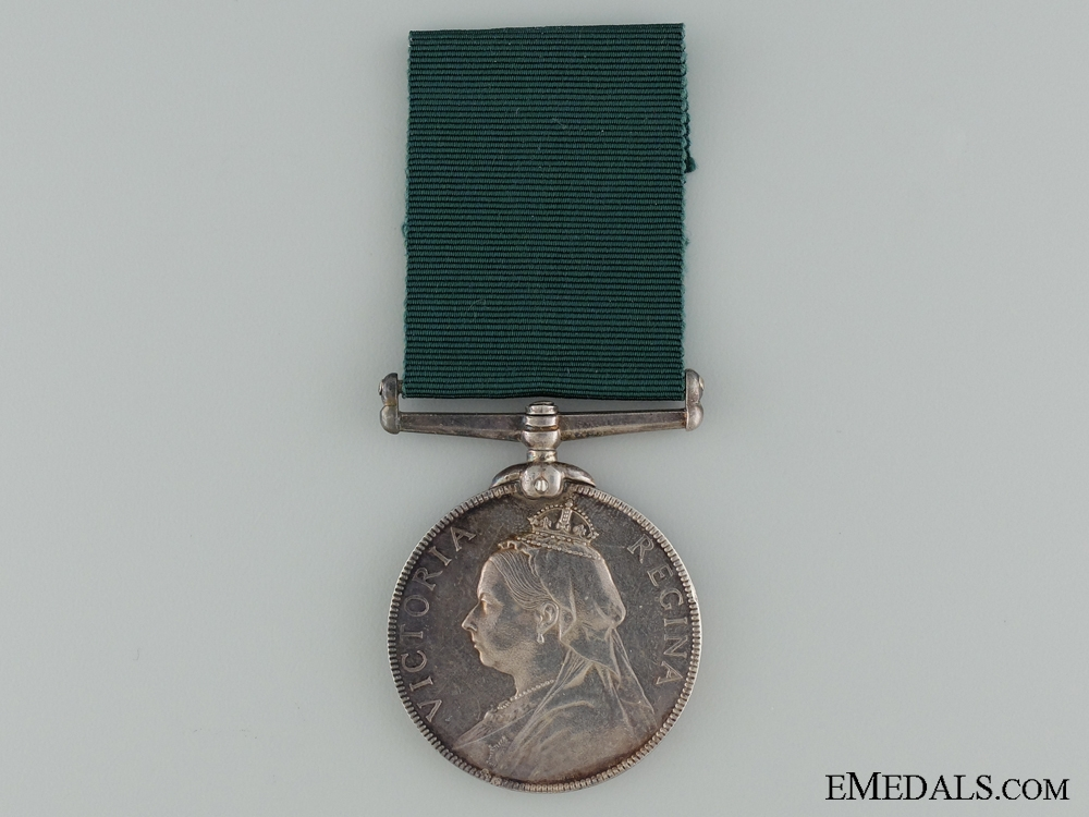 eMedals-A Volunteer Long Service and Good Conduct Medal