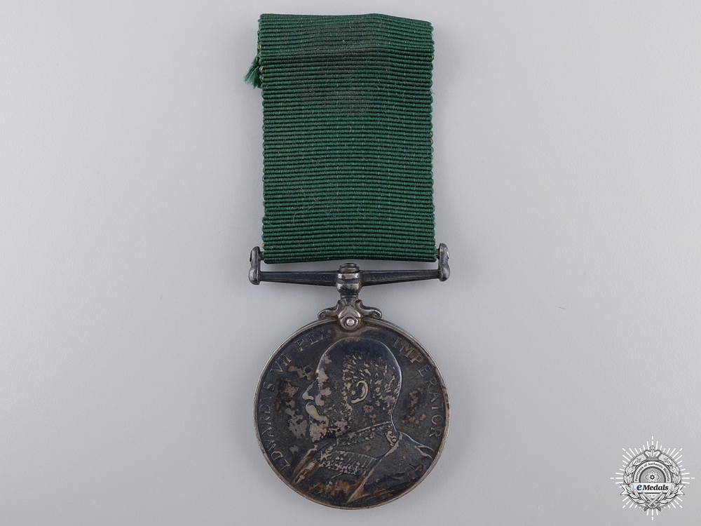 eMedals-A Volunteer Long Service & Good Conduct to the Northumberland Fusiliers