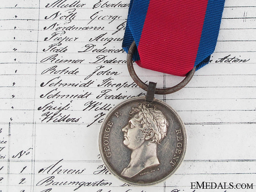 eMedals-A Waterloo Medal to the King's German Legion
