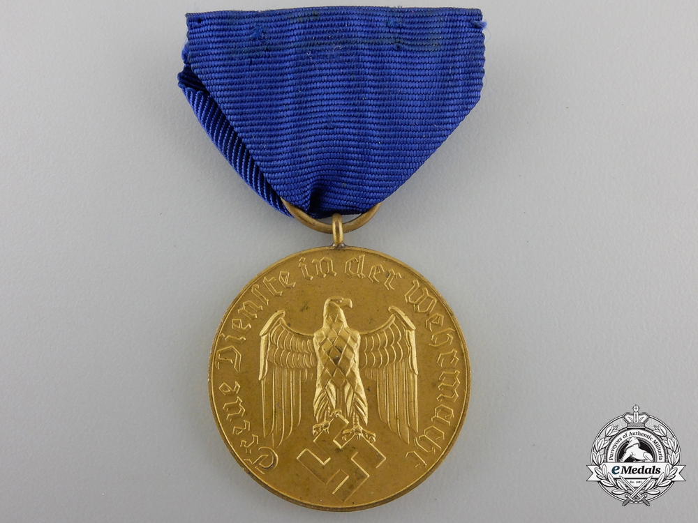 eMedals-A Wehrmacht Long Service Medal for 12 Years of Service