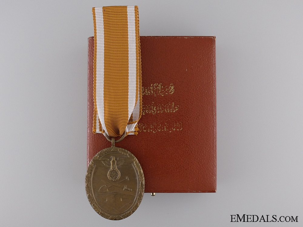 eMedals-A West Wall Campaign Medal with Rare Case of Issue