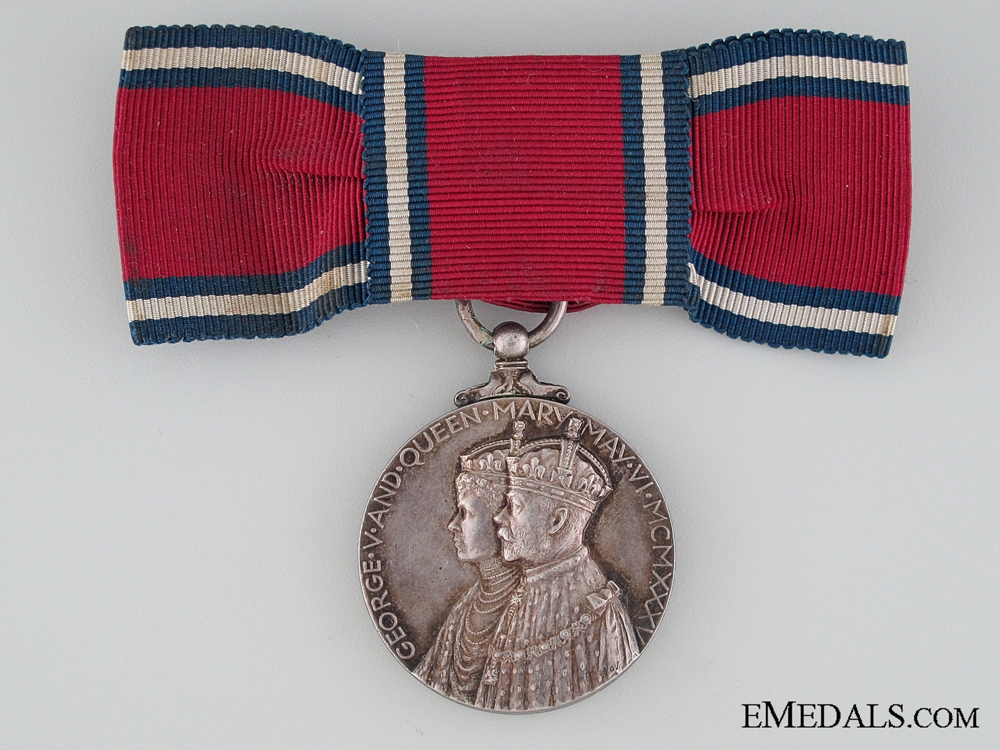 eMedals-A Woman's 1935 Jubilee Medal