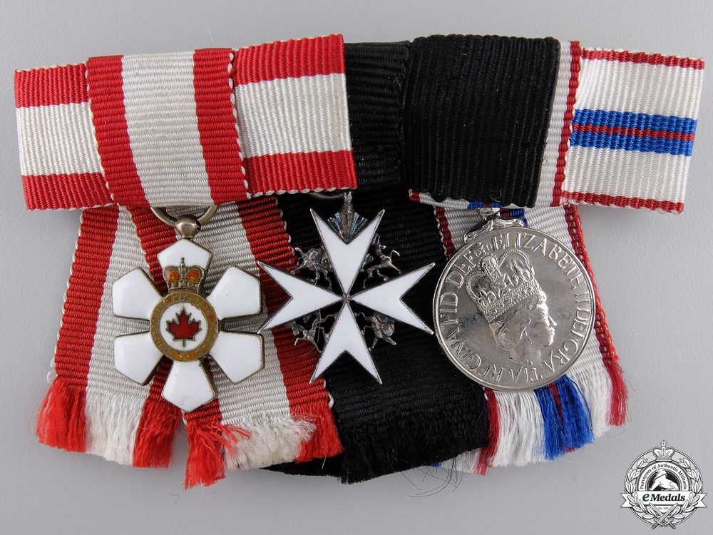 eMedals-A Woman's Order of Canada Miniature Group