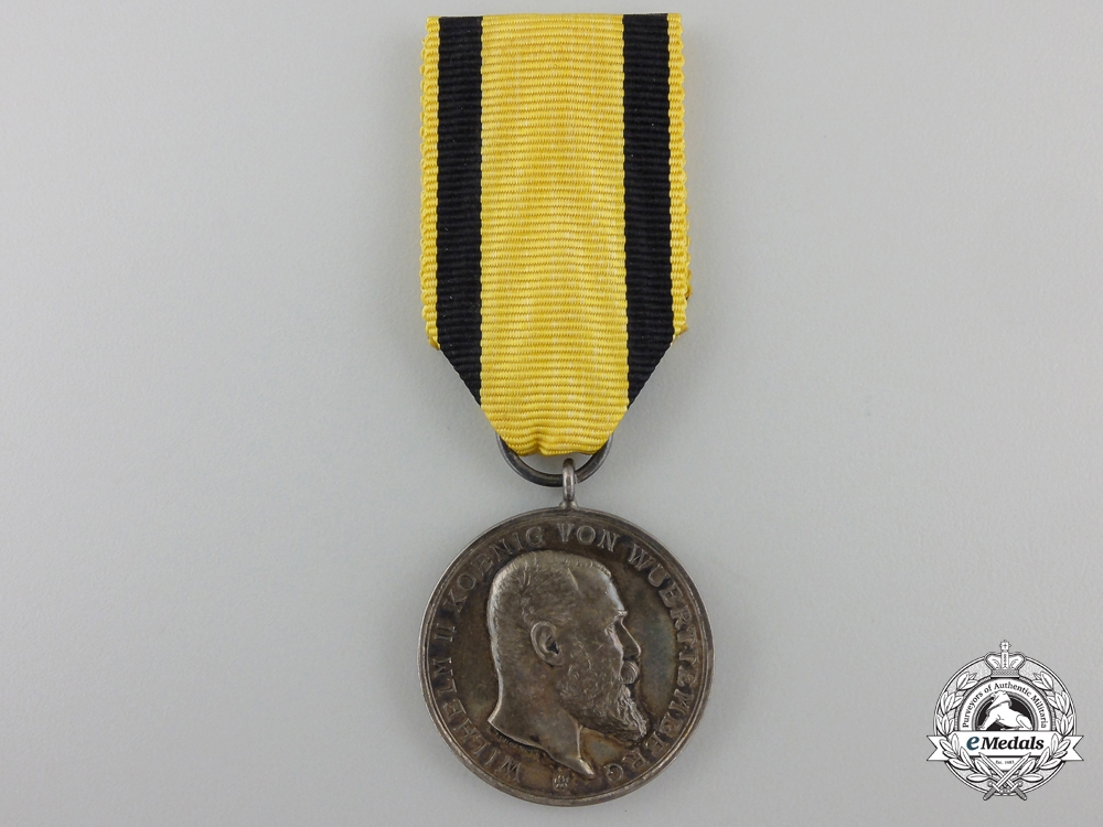 eMedals-A Wurttemberg Military Merit Medal; Silver Grade