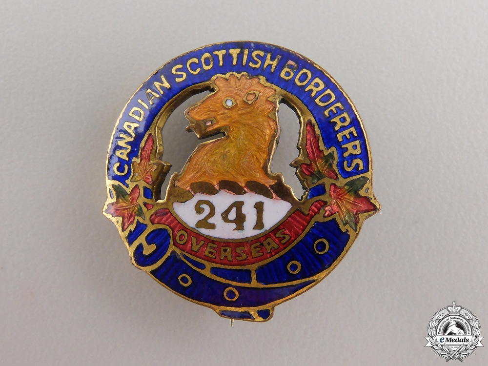 eMedals-A WWI 241st Infantry Battalion Sweetheart Pin  consignment #17