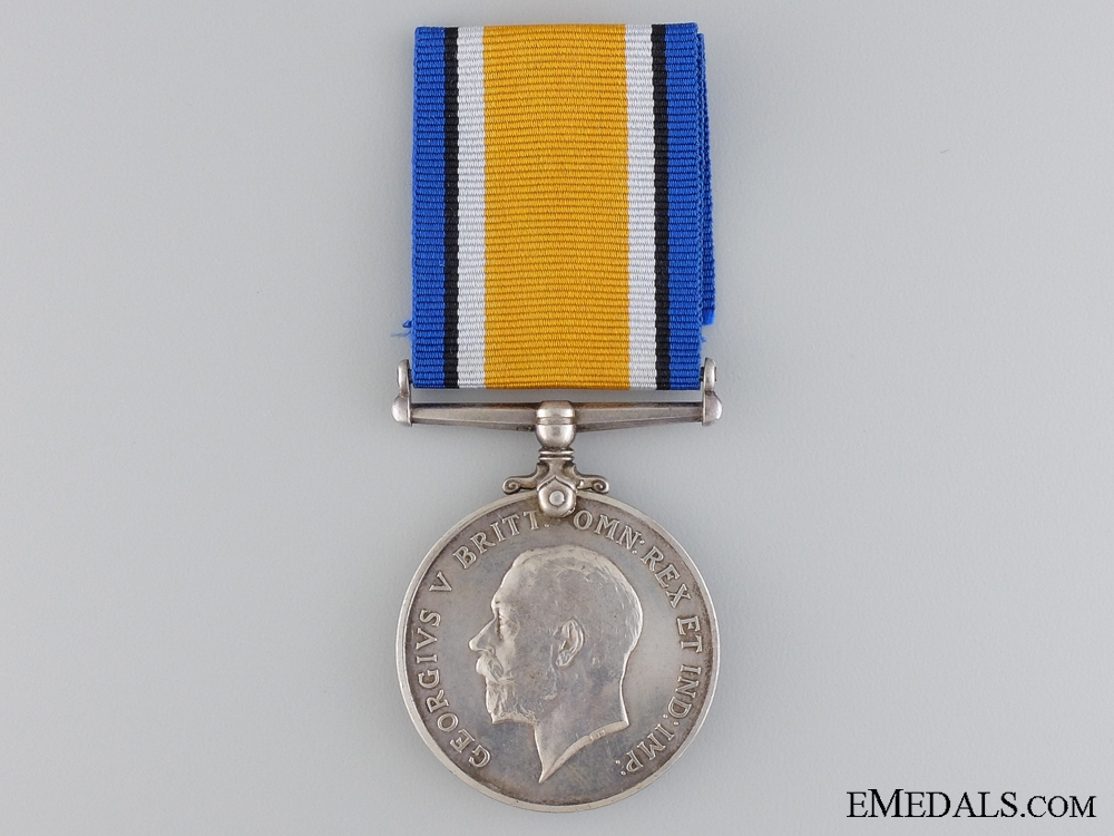 eMedals-A WWI British War Medal to the 2nd Canadian Infantry; KIA