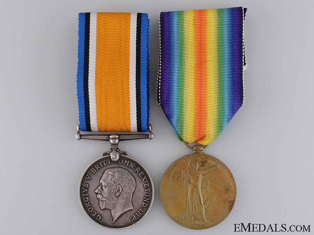 eMedals-A WWI Canadian Medal Pair to 49th Infantry Battalion