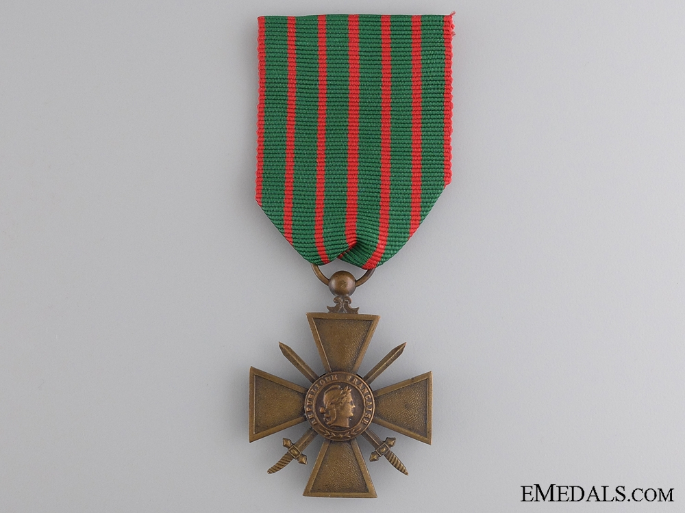 eMedals-A WWI French War Cross 1914-1916