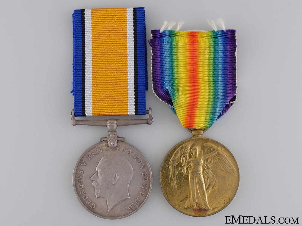 eMedals-A WWI Medal Pair to the 7th Canadian Infantry CEF